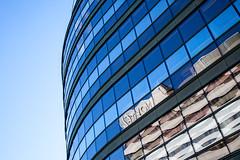 Novotel (Florian Bütow) Tags: sky city downtown reflection window urban architecture cityscape building london skyscraper glass hotel modern office construction perspective finance futuristic business contemporary novotel no person