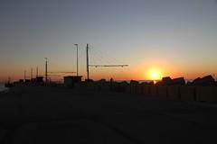 l'alba sul pontile - Senigallia (walterino1962 / sempre nomadi) Tags: sole mare pontile capannedeipescatori palafitte reti paliecavidacciaio carrucole corde scogli faro reteconbilancino luci ombre riflessi senigallia ancona