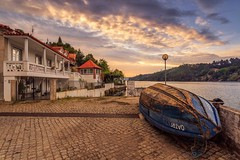 Old Harbor Home (paulosilva3) Tags: sunrise sunset douro river boat pier old harbor home canon manfrotto lee filters progrey colors waterscape riverscape nature travel