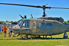 Vietnam Memorial Traveling Wall (David Davila Photography) Tags: oswego il illinois vietnammemorialtravelingwall holuxm241 nikond800 2017 uh1 huey helicopter