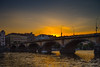 Palacký Bridge (Jyrki Salmi) Tags: jyrki salmi praha prague evening night sunset palackýbridge