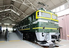 EF 81 Class electric passenger locomotive at the Kyoto Railway Museum 8517 (Tangled Bank) Tags: train railroad railway old classic heritage vintage kyoto museum history historical electric locomotive passenger jr jnr rail