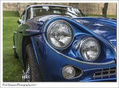 Jensen C-V8 MKII (Paul Simpson Photography) Tags: jensen car carphotography imagesof imageof photoof photosof paulsimpsonphotography bluecar lincolncastle 1960s headlight classiccar transport sonya77 sonyphotography lincoln lincolnshire classiccars carshow photosofcars