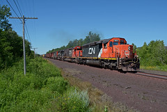 CN 6021- Roaring MRF (Khang Lu) Tags: cn 6021 emd sd403 canadian national iron range dmir missabe mrf train railroad locomotive