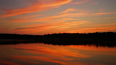 DSC01151 (gregnboutz) Tags: cloud clouds beautifulclouds partlycloudy colorfulsunset colorfulsunsets lakesunset lakesunsets orangesunsets colorfulclouds colorful binderlake binderstatepark binderpark gregboutz