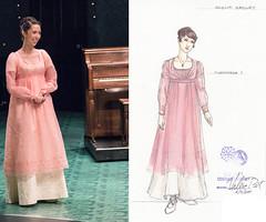 Amelia Sedley, overdress 1