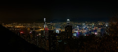 Hong Kong - from The Peak (cantdoworse) Tags: hong kong the peak night landscape long exposure lights canon 6d