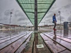 Wet Pier, Bournemouth (D-W-J-S) Tags: bournemouth wet rain raining beach pier