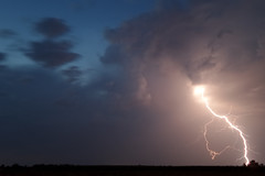 Lightning (Aleksandar Dragićević) Tags: storm thunder cloud weather longexposure kzoom samsung