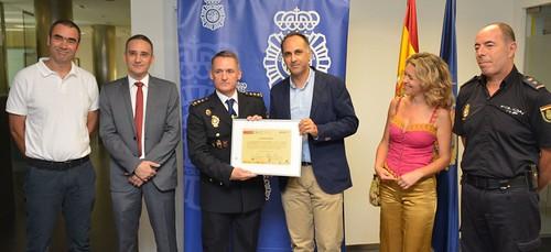 El Campus Mare Nostrum agradece la participación de la Brigada de la Policía Científica de la Comisa