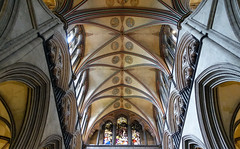 Salisbury Cathedral, choir vaulting