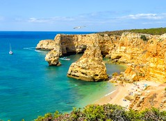 Marinha (Jorge Hamilton) Tags: portugal algarve lagos lagoa praia beach praiadamarinha paraíso mar