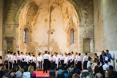 School Choirs at Montalto delle Marche, May 2017 (MikePScott) Tags: ascolipiceno buildings builtenvironment chapel choir church convent ecclesiastical featureslandmarks italia italy lemarche monastery montaltodellemarche people synagogue temple cossignano mar