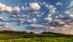 IMG_3786-87Ptzl1scTBbLGER (ultravivid imaging) Tags: ultravividimaging ultra vivid imaging ultravivid colorful canon canon5dmk2 clouds fields farm sunsetclouds scenic rural vista evening twilight summer panoramic pennsylvania pa sunset