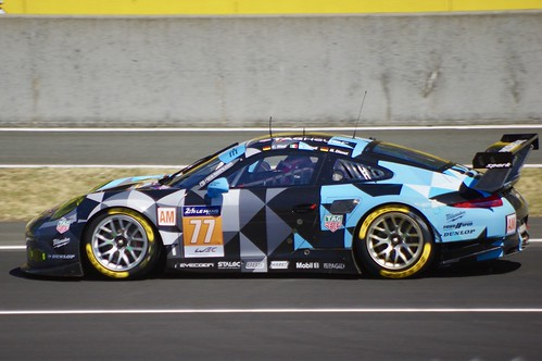 Dempsey Proton Racing's Porsche 911 RSR Driven by Christian Ried, Marvin Dienst and Matteo Cairoli
