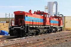 The Kingman Terminal (BravoDelta1999) Tags: kingmanterminal kgtr railroad atchisontopekaandsantafe atsf railway kingman arizona emd sw1500 1541 1542