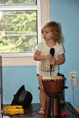 2017 July 27, Children's Museum of the Shoals w/ Ava Grace Nikon D7200 (King Kong 911) Tags: barn3 blocks building children1 fun kids microphone museum music playing singing1 water