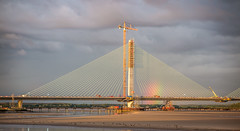 New Mersey Gateway Bridge (Martin Peers) Tags: bridge rivermersey runcorn newmerseygateway widnes cheshire river waterfront