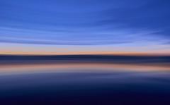 Newgale at Dusk (Maggie's Camera) Tags: icm intentionalcameramovement beach summer dusk water sky newgale pembrokeshire nightfall july2017