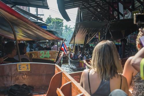 marche fottant damnoen saduak - thailande 34