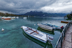 Lake Annecy (cantdoworse) Tags: lake lac annecy sovoie landscape boats mountains alps canon 6d france europe