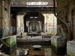 Industrial Cave (jgurbisz) Tags: jgurbisz vacantnewjerseycom abandoned pa pennsylvania philadelphia delawaregeneratingstation dps powerplant industrial water decay
