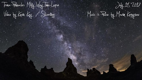 Trona Pinnacles Milky Way Time-Lapse
