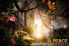 Rust in Peace (Luís Louro) Tags: new york city landscape experimental sunset louro cab apocalypse digital art artistic war luislouro lou
