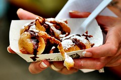 Deep fried cookie dough batter (Laurence's Pictures) Tags: jefferson county fair wisconsin carnival pig races goat duck ffa farmer rural summer festival cheese curd food stand deep fried cookie dough batter