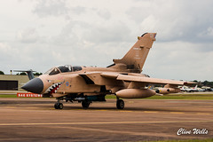 RAF Tornado painted in Operation Granby scheme (wells117) Tags: gr4 groundattack internationalairtattoo operationgrandby panaviatornado panaviatornadogr4 riat17 riat2017 royalair royalinternationalairtattoo tornadogr4 airshow airtattoo aircraft aviation british fairford militaryaviation painted panavia pinky raf raffairford riat tornado dunfield england unitedkingdom