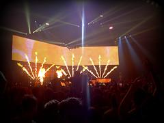 Blink 182 - Liverpool Echo Arena (Greg Pemberton) Tags: blink182 blink 182 black white mono band liverpool gig concert sony pyro mark hoppus matt skiba travis barker