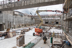 Building the future southbound SR 99 in SODO (WSDOT) Tags: seattle gp construction wsdot sr99tunnel alaskanwayviaductreplacement 2017 south portal
