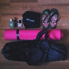 yoga day (HybridDoll) Tags: yoga yogagirl yogapractice meditation whatsinyourbag whatsinmybag