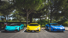 Choices (Gaetan | www.carbonphoto.fr) Tags: lamborghini aventador sv s huracan supercar hypercar car coche auto automotive fast speed exotic luxury great incredible worldcars carbonphoto castellet santagata bull