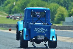 Willys Wheelie (chumlee10) Tags: drag drags strip dragstrip willys jeep wheelies byron il illinois oglecounty blue race
