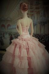 La femme de derrière (Dolldiva67) Tags: declan wake agnes von weiss vienna ballgown ball pink integrity toys fashion royalty doll people portrait