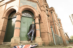 Salford Lads Club (eyecandyclick) Tags: skinhead outside docmartens boots braces trojan salfordladsclub england 1903