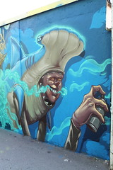 Sharkboy (Pixeljuice23) Tags: pixeljuice friendlyfire mainz graffiti character shark