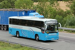 Thornes Independant TH09 NES 21st July 2017 (asdofdsa) Tags: buses coaches transport travel holiday dayout daytrip motorway m62 goole westbound
