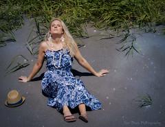 Sands of Time (Keltron - Thanks for 10M Views!) Tags: caley blonde beautifulgirl bluedress attractive alaskangirls anchoragegirls summerinalaska alaskansummer modeling