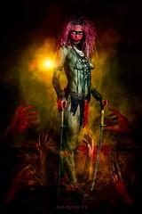 @pix-elles.fr Woman amazone (laytitiamode) Tags: dark modelling modele modelworld femme woman sauvage guerrière fineart