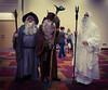 Wizards (AwkwardlyLynn) Tags: gandalfthegrey gandalfthegray radagastthebrown sarumanthewhite lordoftherings lotr thehobbit cosplay costumer