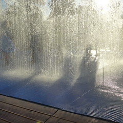 Appearing Rooms by Jeppe Hein (moley75) Tags: london centrallondon fountain southbank summertime appearingrooms jeppehein