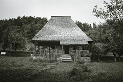 Romanian Traditional House or Village Museum (WhiteShipDesign) Tags: house wooden building rural village architecture romania old rustic traditional country wood museum home roof countryside grass romanian outdoor history exterior vintage travel ancient culture hut tradition european cottage