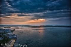 "JERSEY SHORE (JOSE E REYES) Tags: sunset newjersey beach nikon d810 nature clouds ""nikonflickraward"""