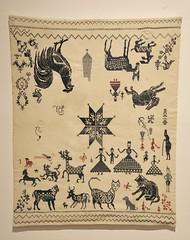 Nahua Embroidered Sampler Mexico (Teyacapan) Tags: mexican textiles puebla tlaxcala bordados samplers animals needlework museum nahua