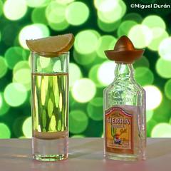 Tequila Day... (mike828 - Miguel Duran) Tags: botella bottle tequila drink bebida licor vaso glass lima lime sierra bokeh dof sony slt a77 alpha 50mm f14