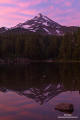 Mount Jefferson Reflection at Sunset (Don Geyer) Tags: mountjefferson sunset pinkcloudsreflection mirror atshalelakealongthepacificcoasttrail mountjeffersonwilderness willamettenationalforest oregon usa or us unitedstates lake lakes landscape landscapes meadow meadows mountain mountains natural outdoor outside outdoors scenic scenery scenics volcano volcanic volcanos wild uncultivated wilderness backcountry wilds ecology ecosystem environment ecosystems environments summer summertime summers summertimes evening evenings water