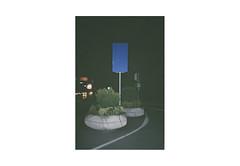 (harald wawrzyniak) Tags: analogue analog film scan fuji yashica t5 harald wawrzyniak blue night street austria graz 35mm 2015