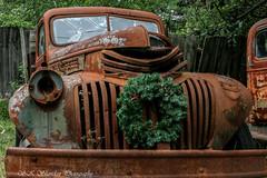 Old Truck (Scott Sheridan) Tags: rust decay oldtruck